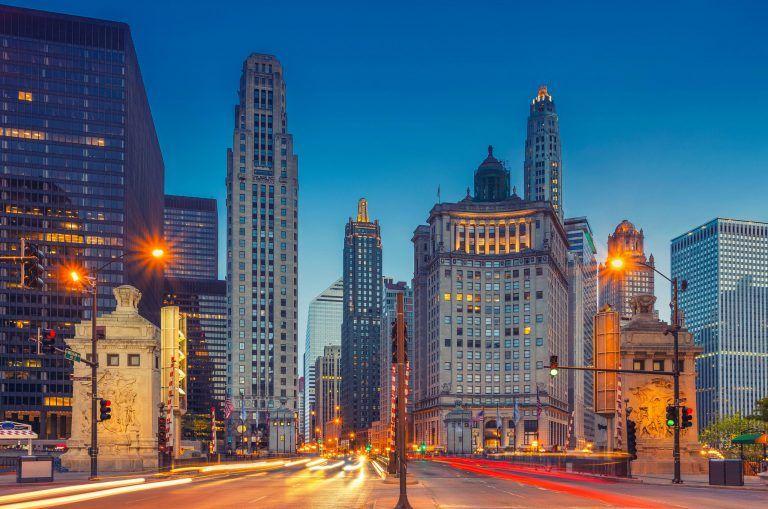 Architecture Skyline Chicago 768x509 - Illinois - erstaunlich gut, für alle!