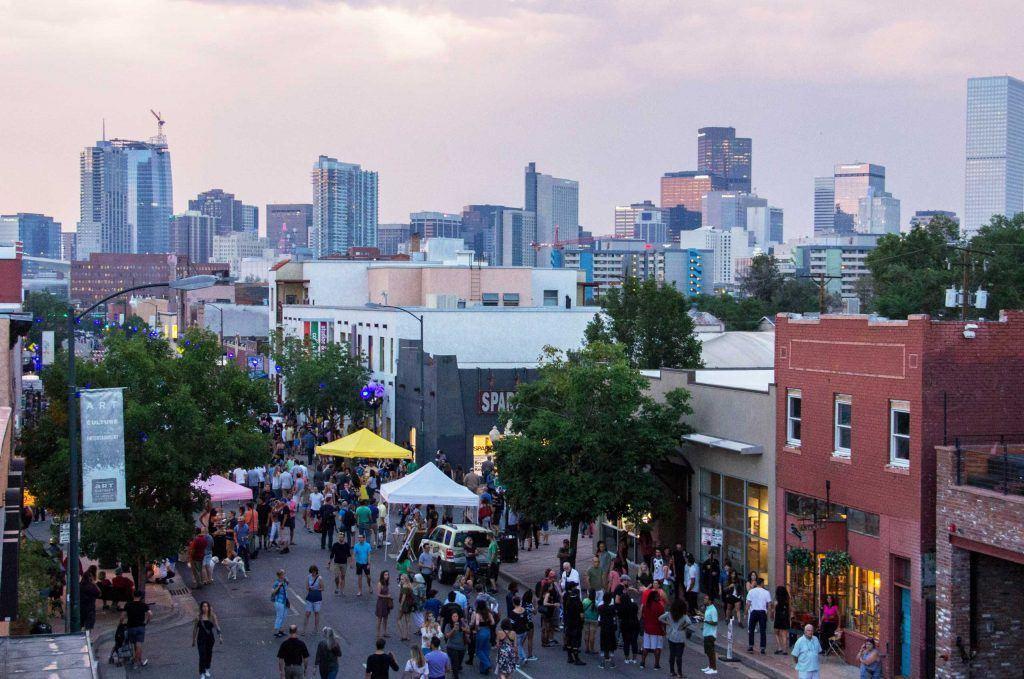 First Friday Art Walks Denver 1024x679 - First Friday Art Walks in Denver