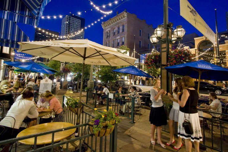 Larimer Square Credit VISIT DENVER 768x512 - First Friday Art Walks in Denver