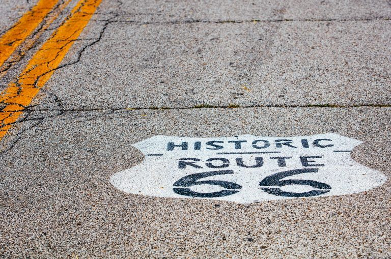 Route66 OdellGas 768x509 - Route 66 - Illinois' Mother Road mal anders