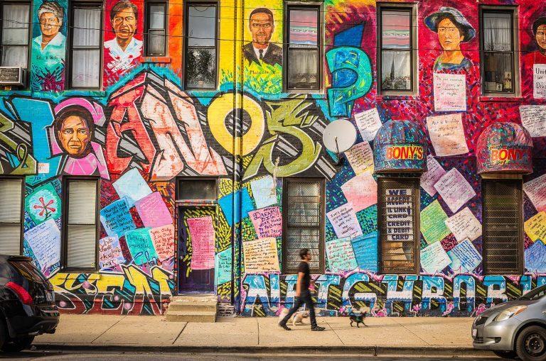 Street Murals Pilsen Chicago 768x509 - Chicago - 'Windy City' off the beaten track...