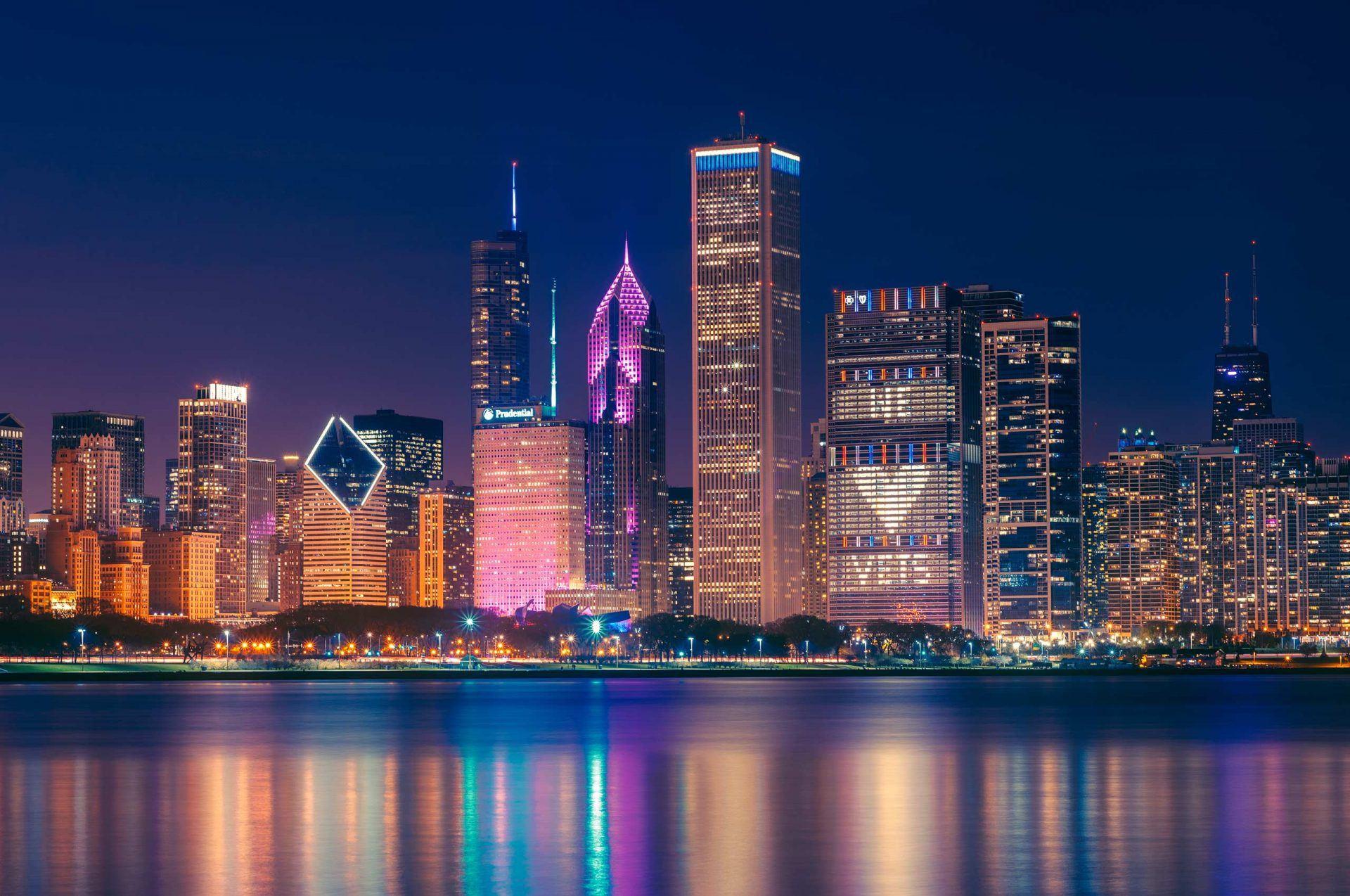 chicago skyline closecredit Daniel Bartolo 1920x1274 - Der Frank Lloyd Wright Trail in Illinois