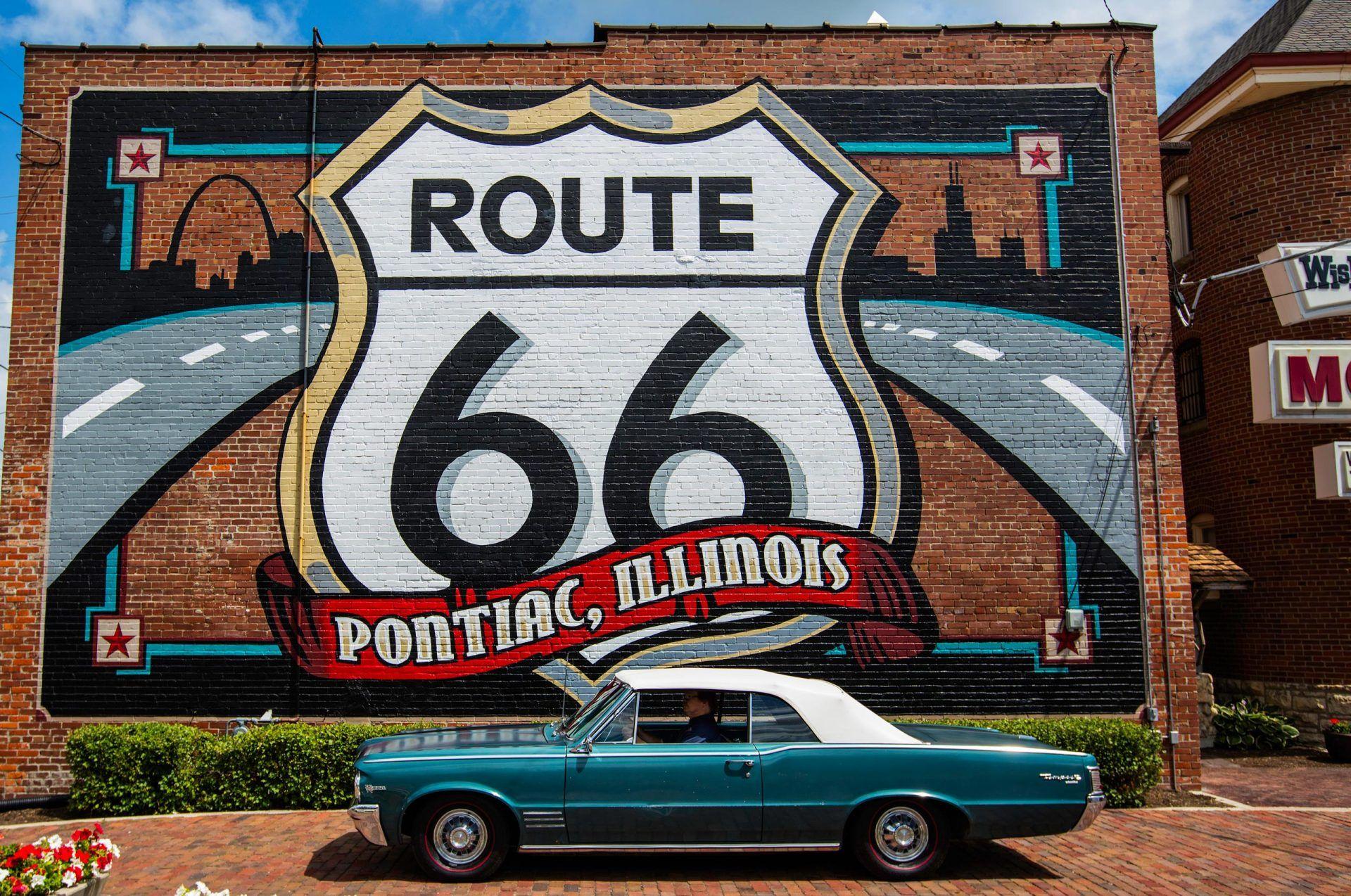 Road Trip US Route 66 Illinois