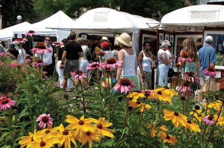 Cherry Creek Arts Festival in Denver