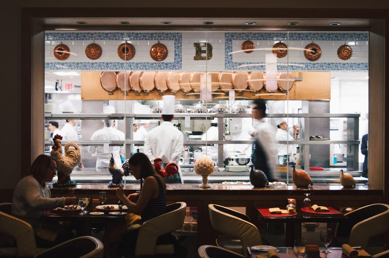 The Culinary Institute of America - Küchenfenster The Bocuse