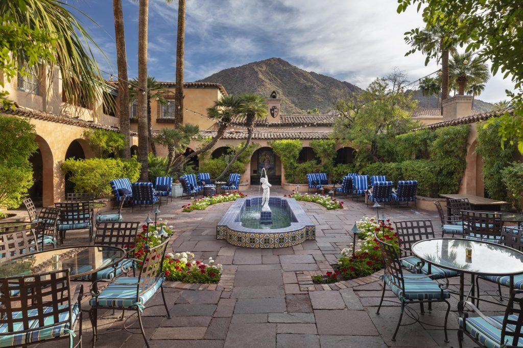 Manion Courtyard Medium Res  1024x683 - Royal Palms Resort and Spa, Scottsdale