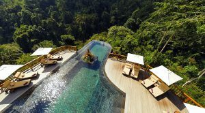 The worlds best swimming pool at Hanging Gardens Ubud Bali 300x166 - The Hanging Gardens of Bali, Ubud