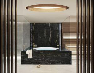 19 EXCLUSIVE SPASUITE BATHROOM 300x235 - Lefay Resort & SPA Dolomiti, Dolomiten