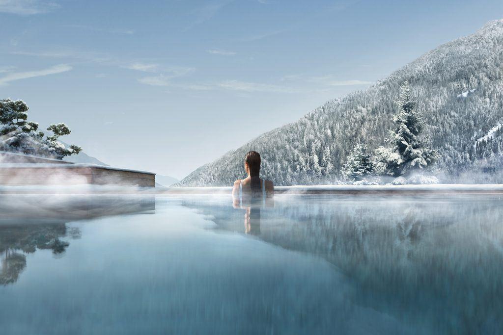 7 PISCINA INTERNA ESTERNA WINTER OUTDOOR 1024x683 - Lefay Resort & SPA Dolomiti, Dolomiten