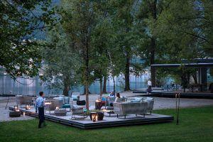 Castello del Sole Strand Abend 300x200 - Castello del Sole, Ascona