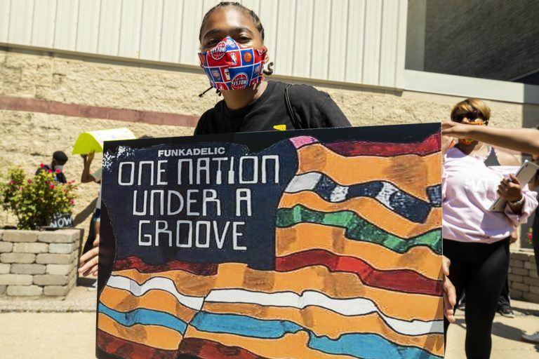 OneNationMarch 2020 7895 768x512 - Wo Martin Luther King Jr. anfing zu träumen: Der Black History Month in Detroit