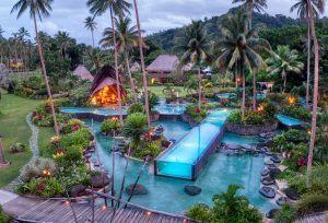 laucala island pool aerial viewtrey ratcliff 300x204 - Laucala Island, Fidschi