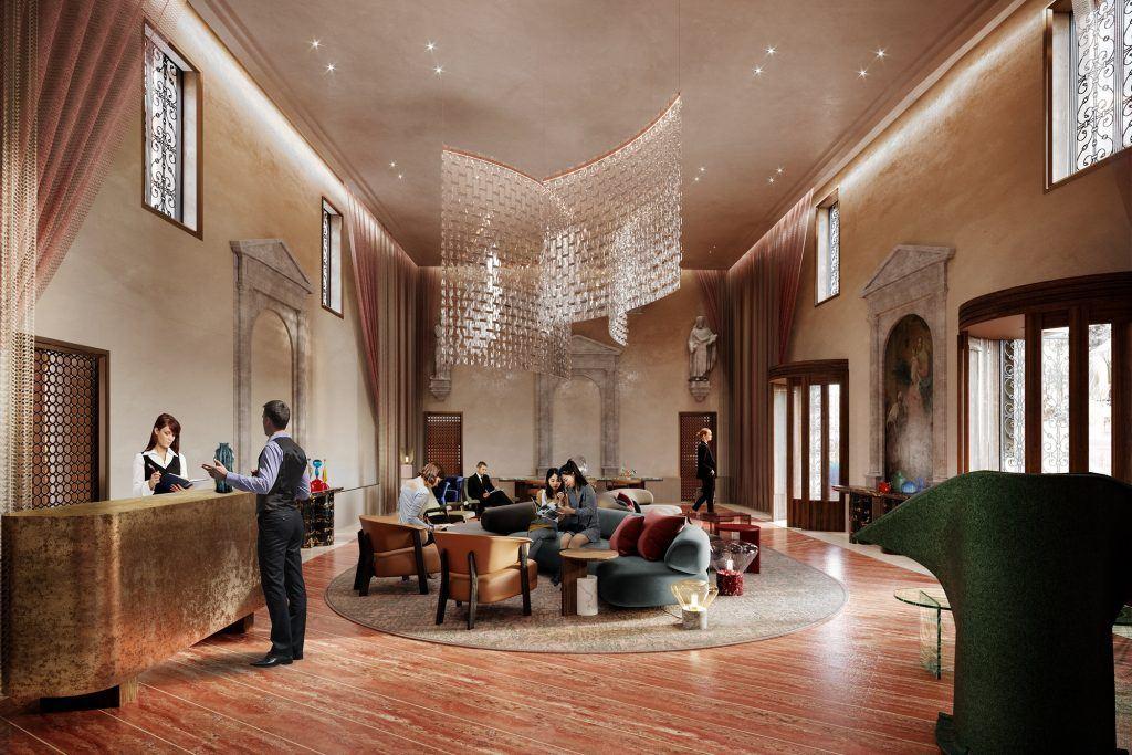 Ca di Dio Rendering lobby 2 1024x683 - Ca' di Dio, Venedig