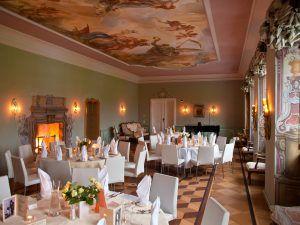 Barocksaal im Schloss Wernersdorf