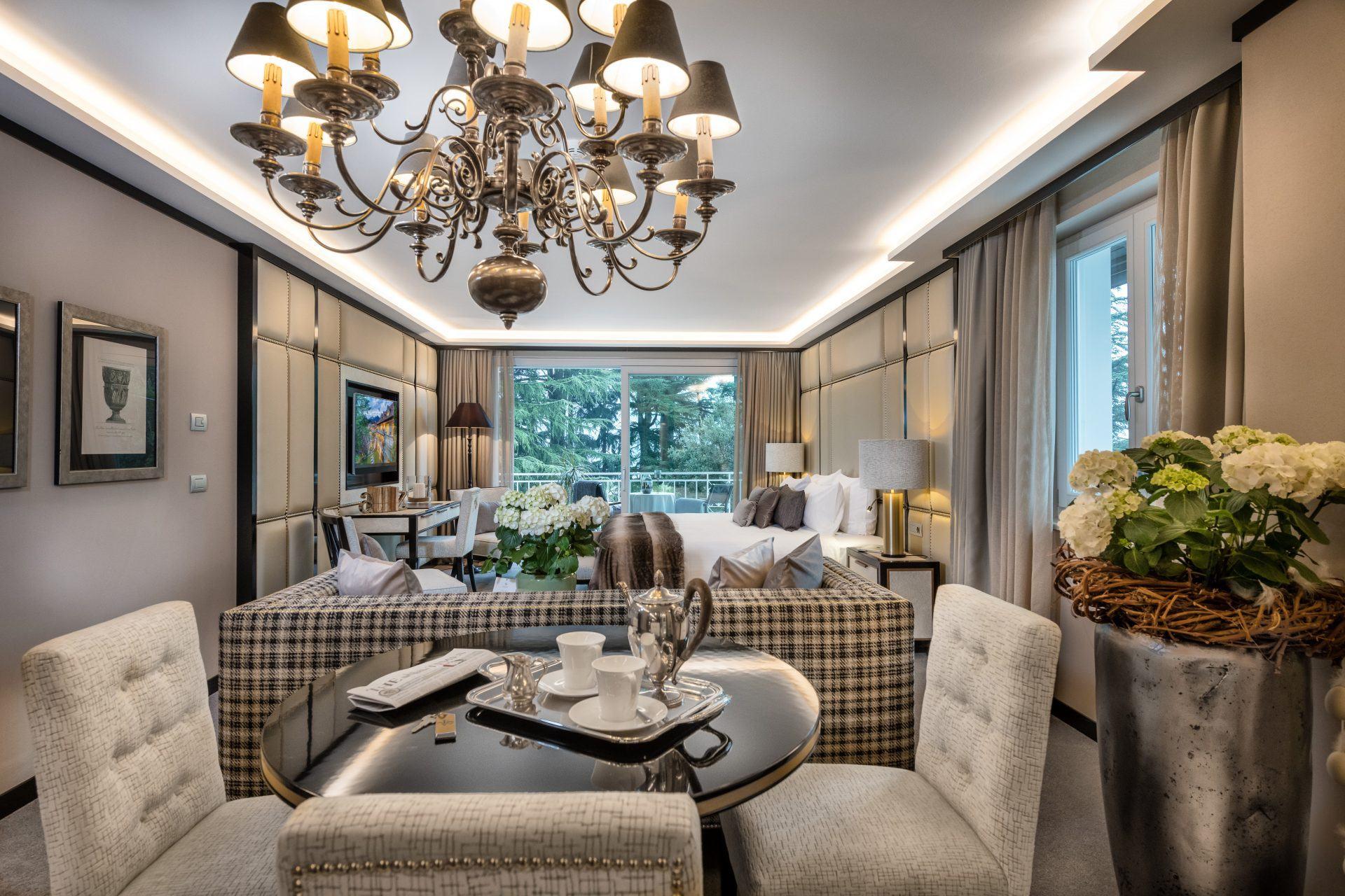 Garden Suite in der Villa Eden