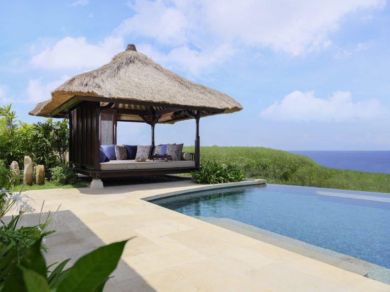 Raffles Bali privater Pool